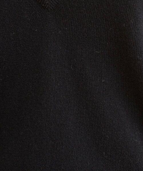 BEAUTY&YOUTH UNITED ARROWS / ビューティ&ユース ユナイテッドアローズ ニット・セーター | 【予約】BY ウールカシミヤ天竺ディープVネックニット -ウォッシャブル- | 詳細9
