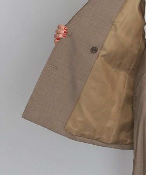 BEAUTY&YOUTH UNITED ARROWS / ビューティ&ユース ユナイテッドアローズ テーラードジャケット   BY TRADITIONAL サマーウールダブルジャケット   詳細12