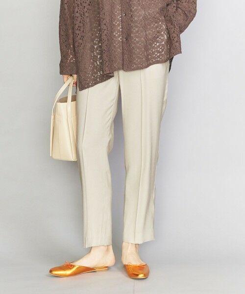 BEAUTY&YOUTH UNITED ARROWS / ビューティ&ユース ユナイテッドアローズ スラックス・ドレスパンツ | BY イージーテーパードパンツ | 詳細7