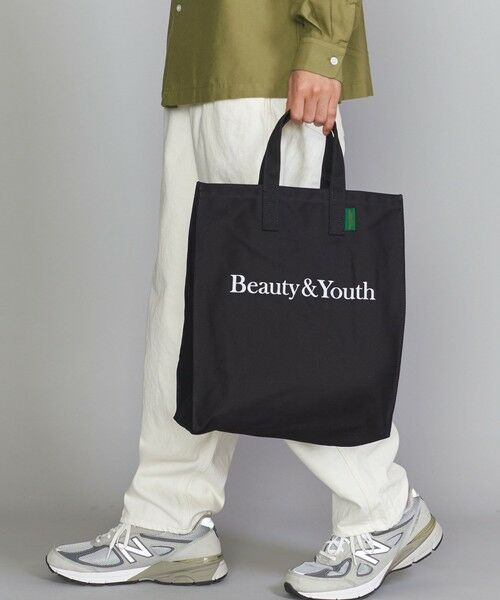 BEAUTY&YOUTH UNITED ARROWS / ビューティ&ユース ユナイテッドアローズ トートバッグ | BY SOUVENIR キャンバス トートバッグ M | 詳細10