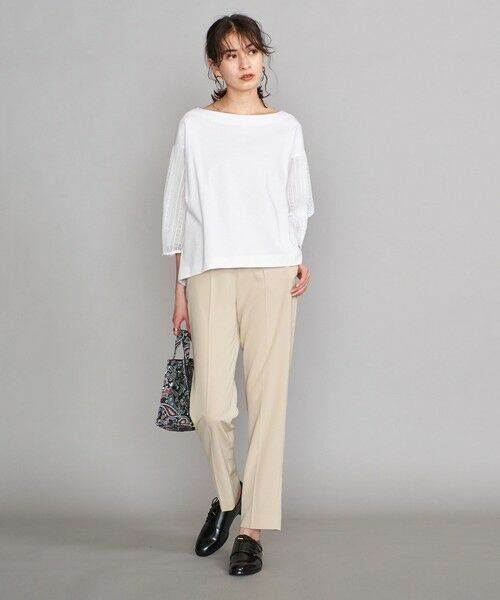 BEAUTY&YOUTH UNITED ARROWS / ビューティ&ユース ユナイテッドアローズ カットソー | BY 袖レース7分袖カットソー | 詳細2