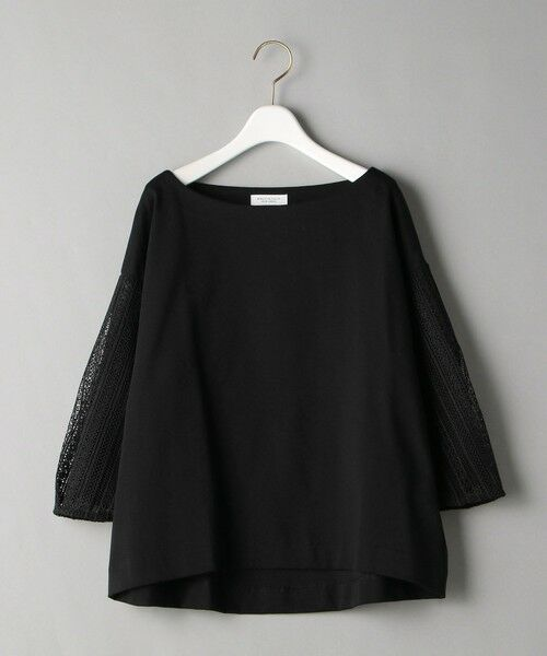 BEAUTY&YOUTH UNITED ARROWS / ビューティ&ユース ユナイテッドアローズ カットソー | BY 袖レース7分袖カットソー | 詳細11