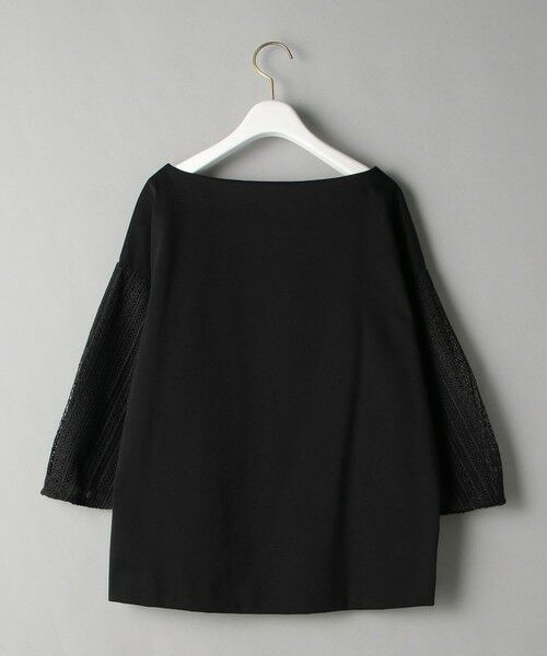 BEAUTY&YOUTH UNITED ARROWS / ビューティ&ユース ユナイテッドアローズ カットソー | BY 袖レース7分袖カットソー | 詳細12