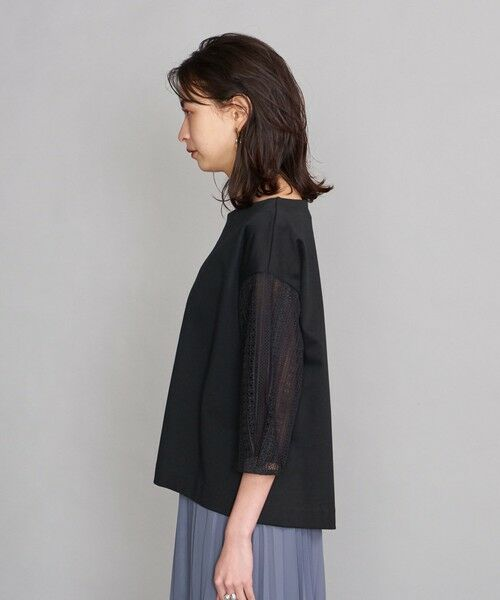 BEAUTY&YOUTH UNITED ARROWS / ビューティ&ユース ユナイテッドアローズ カットソー | BY 袖レース7分袖カットソー | 詳細6
