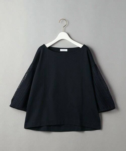 BEAUTY&YOUTH UNITED ARROWS / ビューティ&ユース ユナイテッドアローズ カットソー | BY 袖レース7分袖カットソー | 詳細19