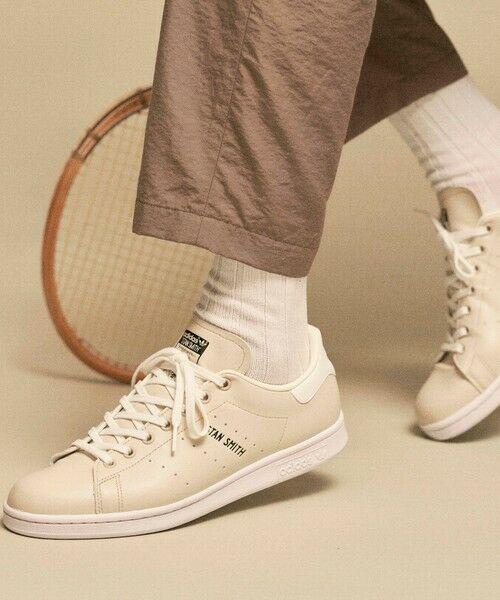 BEAUTY&YOUTH UNITED ARROWS / ビューティ&ユース ユナイテッドアローズ スニーカー | 【別注】 <adidas Originals(アディダス オリジナルス)> STAN SMITH/スタンスミス(BEIGE)