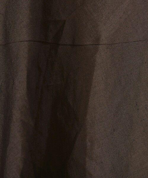 BEAUTY&YOUTH UNITED ARROWS / ビューティ&ユース ユナイテッドアローズ ロング・マキシ丈スカート | 【予約】BY テレデランリネン パネルフレアマキシスカート -ウォッシャブル- | 詳細19