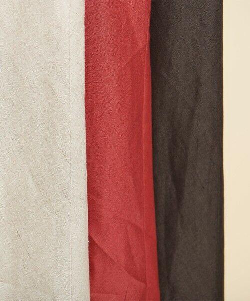 BEAUTY&YOUTH UNITED ARROWS / ビューティ&ユース ユナイテッドアローズ ロング・マキシ丈スカート | 【予約】BY テレデランリネン パネルフレアマキシスカート -ウォッシャブル- | 詳細20