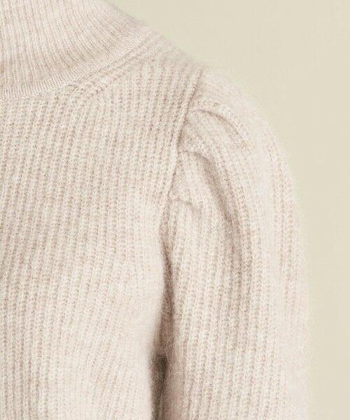 BEAUTY&YOUTH UNITED ARROWS / ビューティ&ユース ユナイテッドアローズ ニット・セーター   BY アルパカミックス ドロップスリーブ畦ニットプルオーバー ∴   詳細10
