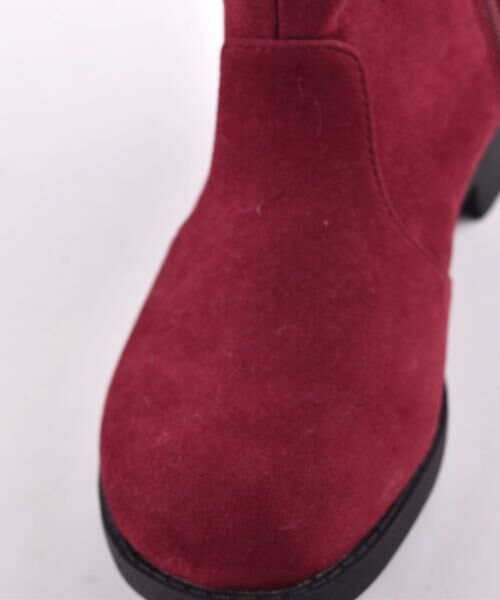 BeBe / べべ ブーツ(ショート丈) | スカラップフラワーショートブーツ | 詳細12