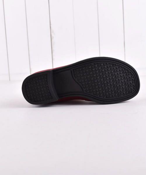 BeBe / べべ ブーツ(ショート丈) | スカラップフラワーショートブーツ | 詳細15