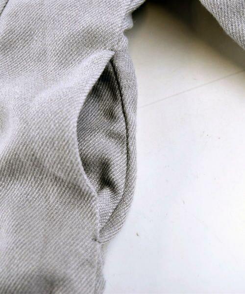 BeBe / べべ アウター | サージ×ファー切り替え中綿コート | 詳細12