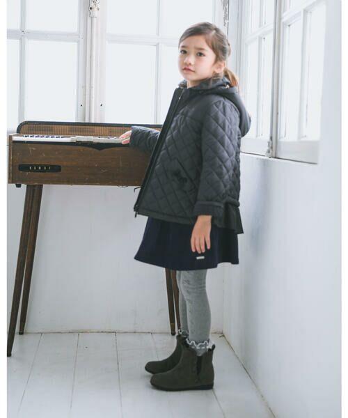 BeBe / べべ スカート | クルミ ボタン フラップ ポケット ツイル ベッチン ジャンパースカート(90cm〜140cm) | 詳細2