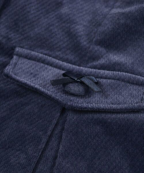 BeBe / べべ スカート | クルミ ボタン フラップ ポケット ツイル ベッチン ジャンパースカート(90cm〜140cm) | 詳細8