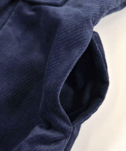 BeBe / べべ スカート | クルミ ボタン フラップ ポケット ツイル ベッチン ジャンパースカート(90cm〜140cm) | 詳細9