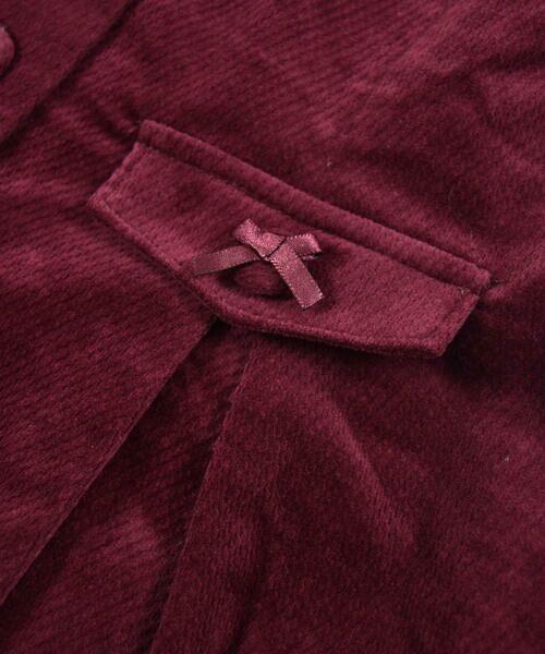 BeBe / べべ スカート | クルミ ボタン フラップ ポケット ツイル ベッチン ジャンパースカート(90cm〜140cm) | 詳細16