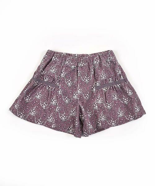 BeBe / べべ スカート | 日本製 カバリエ レ・アズー ロキュロット スカート(90cm〜150cm)(ブラウン系)