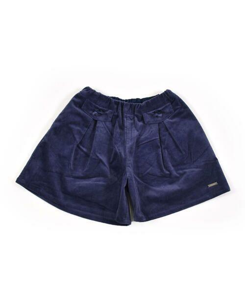 BeBe / べべ スカート | クルミ ボタン フラップ ポケット ツイル ベッチン キュロット(90cm〜150cm) | 詳細6