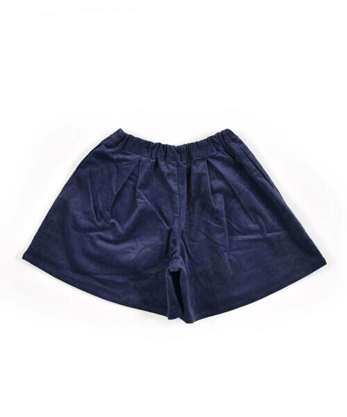 BeBe / べべ スカート | クルミ ボタン フラップ ポケット ツイル ベッチン キュロット(90cm〜150cm) | 詳細7
