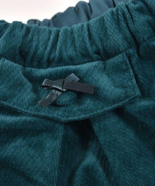 BeBe / べべ スカート | クルミ ボタン フラップ ポケット ツイル ベッチン キュロット(90cm〜150cm) | 詳細10
