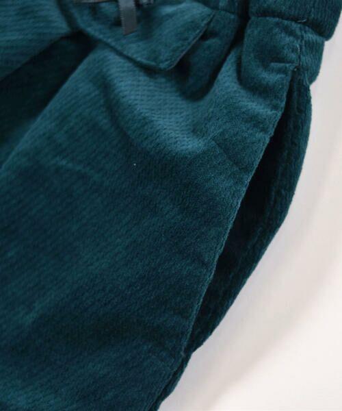 BeBe / べべ スカート | クルミ ボタン フラップ ポケット ツイル ベッチン キュロット(90cm〜150cm) | 詳細12