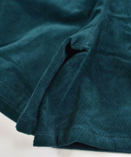 BeBe / べべ スカート | クルミ ボタン フラップ ポケット ツイル ベッチン キュロット(90cm〜150cm) | 詳細13