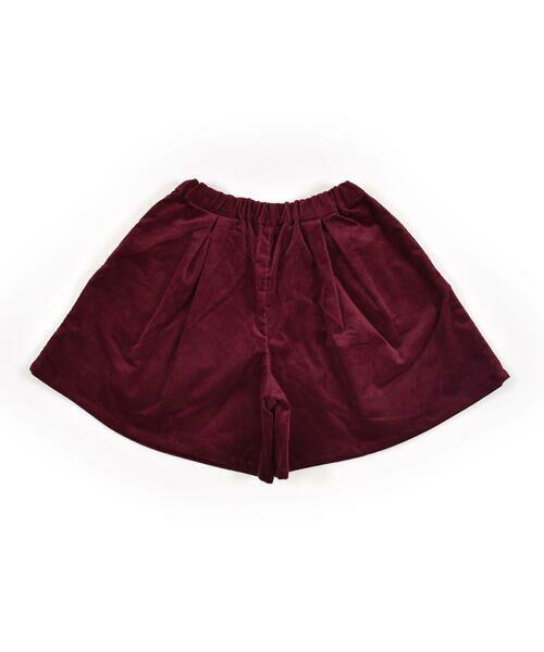 BeBe / べべ スカート | クルミ ボタン フラップ ポケット ツイル ベッチン キュロット(90cm〜150cm) | 詳細14