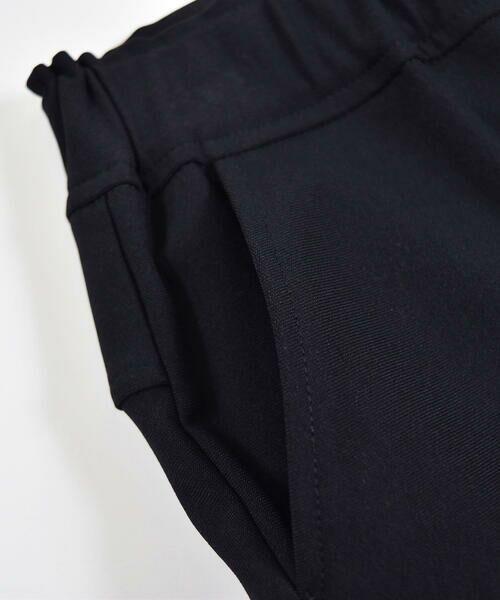 BeBe / べべ パンツ | メリルハイテンション フロント ロゴ スウェット パンツ(100~140cm) | 詳細10