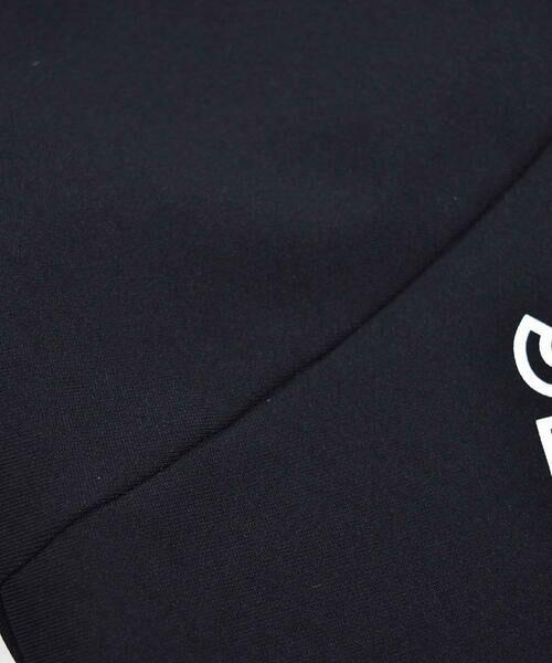 BeBe / べべ パンツ | メリルハイテンション フロント ロゴ スウェット パンツ(100~140cm) | 詳細11