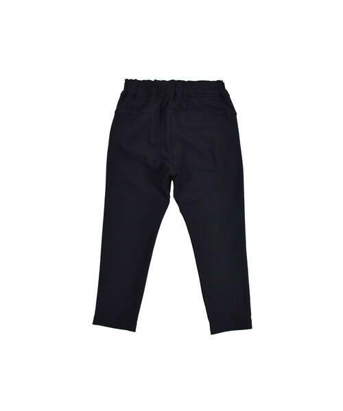 BeBe / べべ パンツ | メリルハイテンション フロント ロゴ スウェット パンツ(100~140cm) | 詳細8