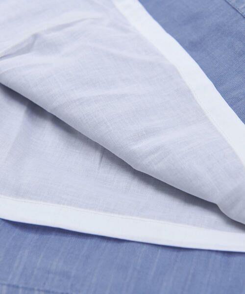 BeBe / べべ ワンピース | スカラップ フリル 衿 ナチュラル ストライプ ワンピース(90~140cm) | 詳細19