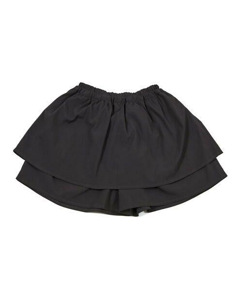 BeBe / べべ ショート・ハーフ・半端丈パンツ   ギンガム サッカー レイヤード スカート パンツ(80~150cm)   詳細6