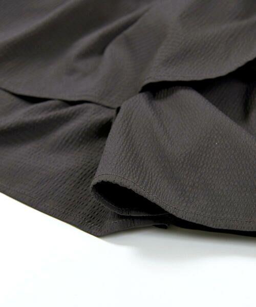 BeBe / べべ ショート・ハーフ・半端丈パンツ   ギンガム サッカー レイヤード スカート パンツ(80~150cm)   詳細9