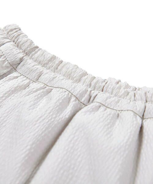 BeBe / べべ ショート・ハーフ・半端丈パンツ   ギンガム サッカー レイヤード スカート パンツ(80~150cm)   詳細11