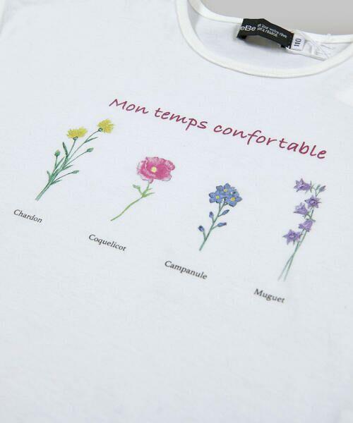 BeBe / べべ Tシャツ   【TioTio】フラワー プリント Tシャツ (90〜140cm)   詳細8
