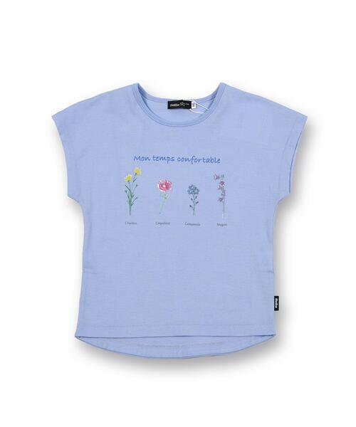 BeBe / べべ Tシャツ   【TioTio】フラワー プリント Tシャツ (90〜140cm)   詳細15