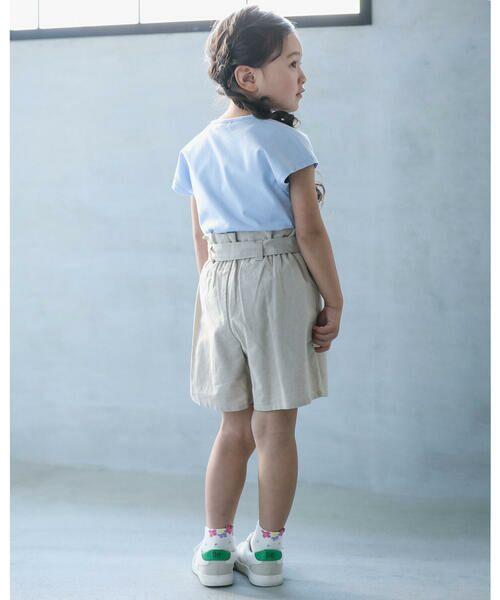 BeBe / べべ Tシャツ   【TioTio】フラワー プリント Tシャツ (90〜140cm)   詳細12