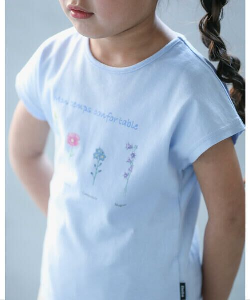 BeBe / べべ Tシャツ   【TioTio】フラワー プリント Tシャツ (90〜140cm)   詳細13
