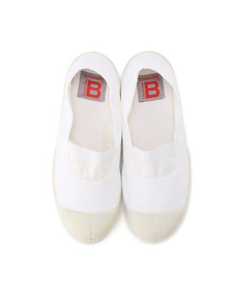 BENSIMON / ベンシモン スニーカー | Tennis Elastique レディース(white)