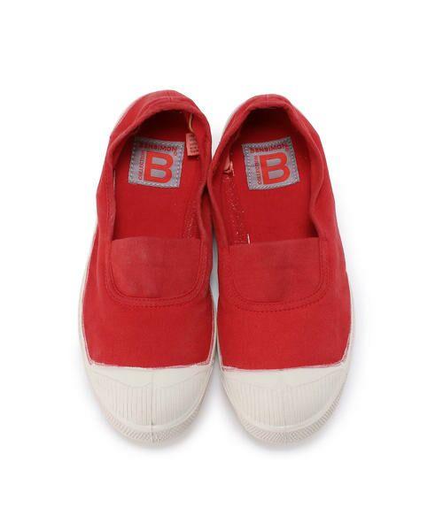 BENSIMON / ベンシモン スニーカー | Tennis Elastique レディース(red)