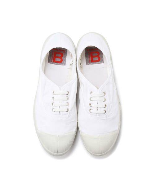 BENSIMON / ベンシモン スニーカー | Tennis Lacets レディース(white)