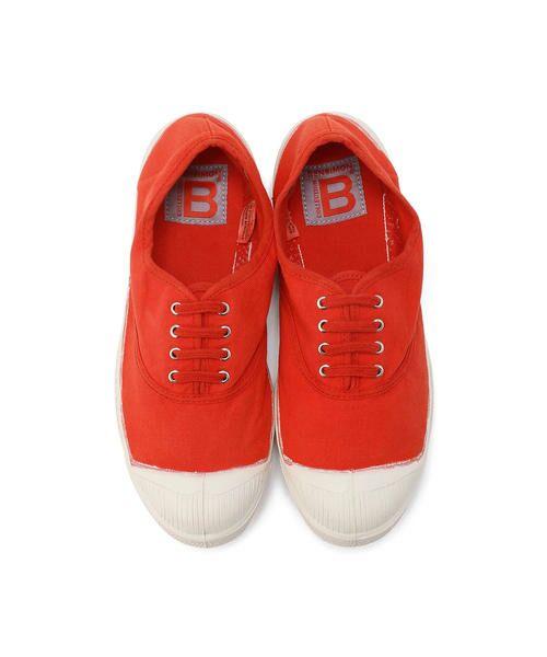 BENSIMON / ベンシモン スニーカー | Tennis Lacets レディース(red)