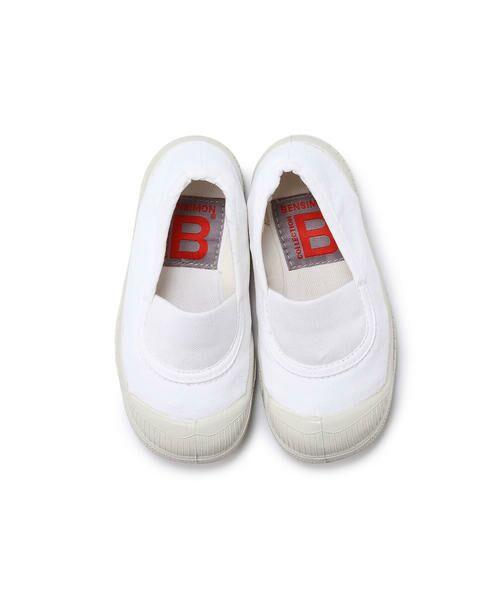 BENSIMON / ベンシモン スニーカー | Tennis Elastique キッズ(white)
