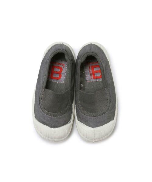 BENSIMON / ベンシモン スニーカー | Tennis Elastique キッズ(grey)
