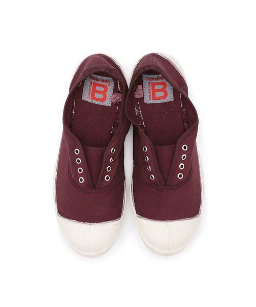 BENSIMON / ベンシモン スニーカー | 【2019AW】Tennis Elly レディース(burgundy)