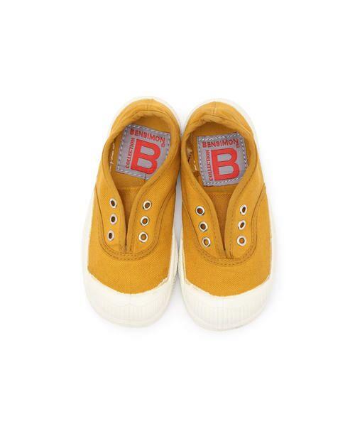 BENSIMON / ベンシモン スニーカー | 【2019AW】Tennis Elly キッズ(yellow)