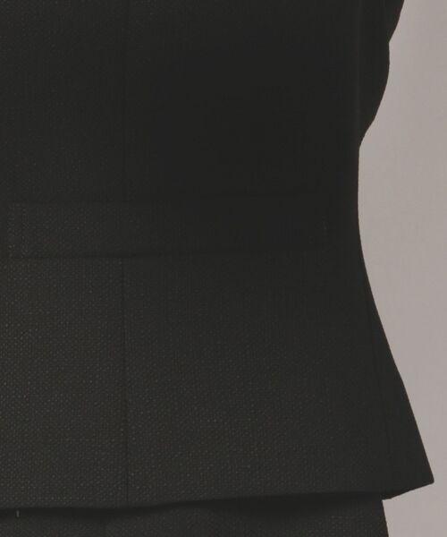 BLACK FORMAL / ブラックフォーマル セットアップ | ラフィリオンブッチャー ジャケット+ワンピース | 詳細23