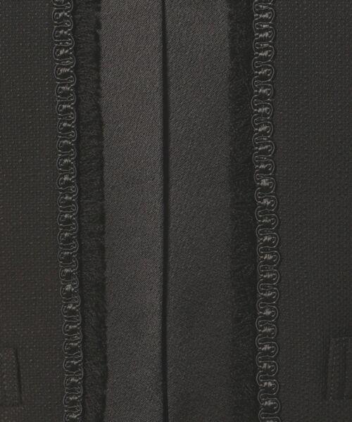 BLACK FORMAL / ブラックフォーマル セットアップ | ラフィリオンブッチャー ジャケット+ワンピース | 詳細25