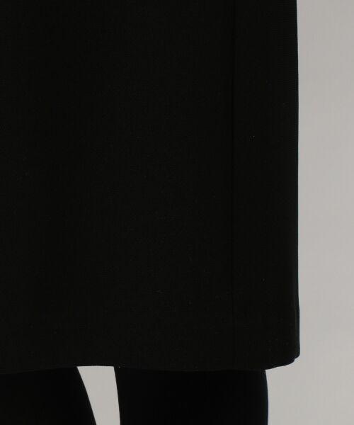 BLACK FORMAL / ブラックフォーマル カーディガン・ボレロ | バーズアイコードレース アンサンブル | 詳細8
