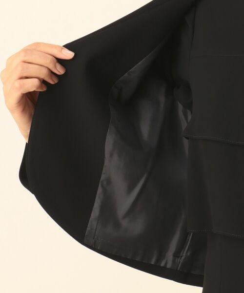 BLACK FORMAL / ブラックフォーマル セットアップ | 【盛夏対応】ガーシュストレッチバーズアイ ジャケット+ワンピース | 詳細21